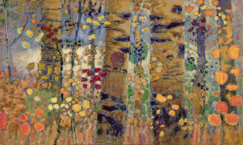 Witnessing Wilderness   | oil on canvas | 44 x 74"