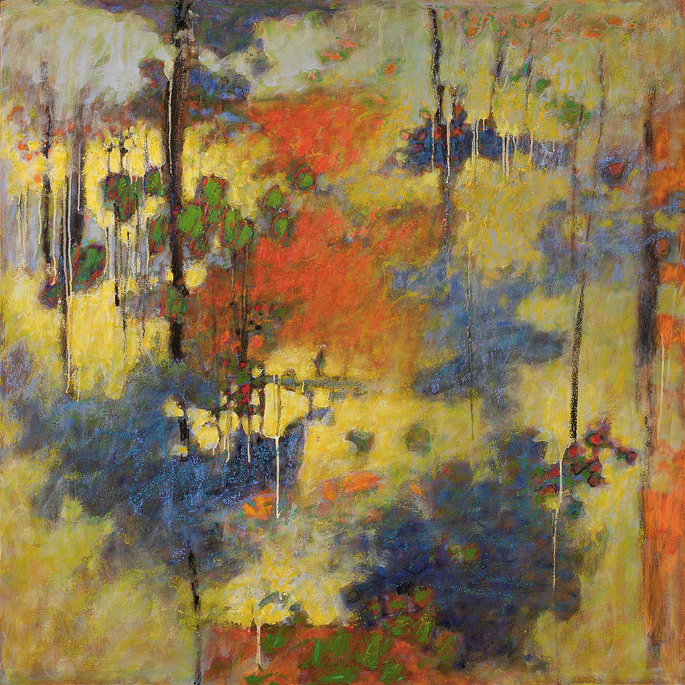 Semantic Spaces   | oil on canvas |48 x 48"