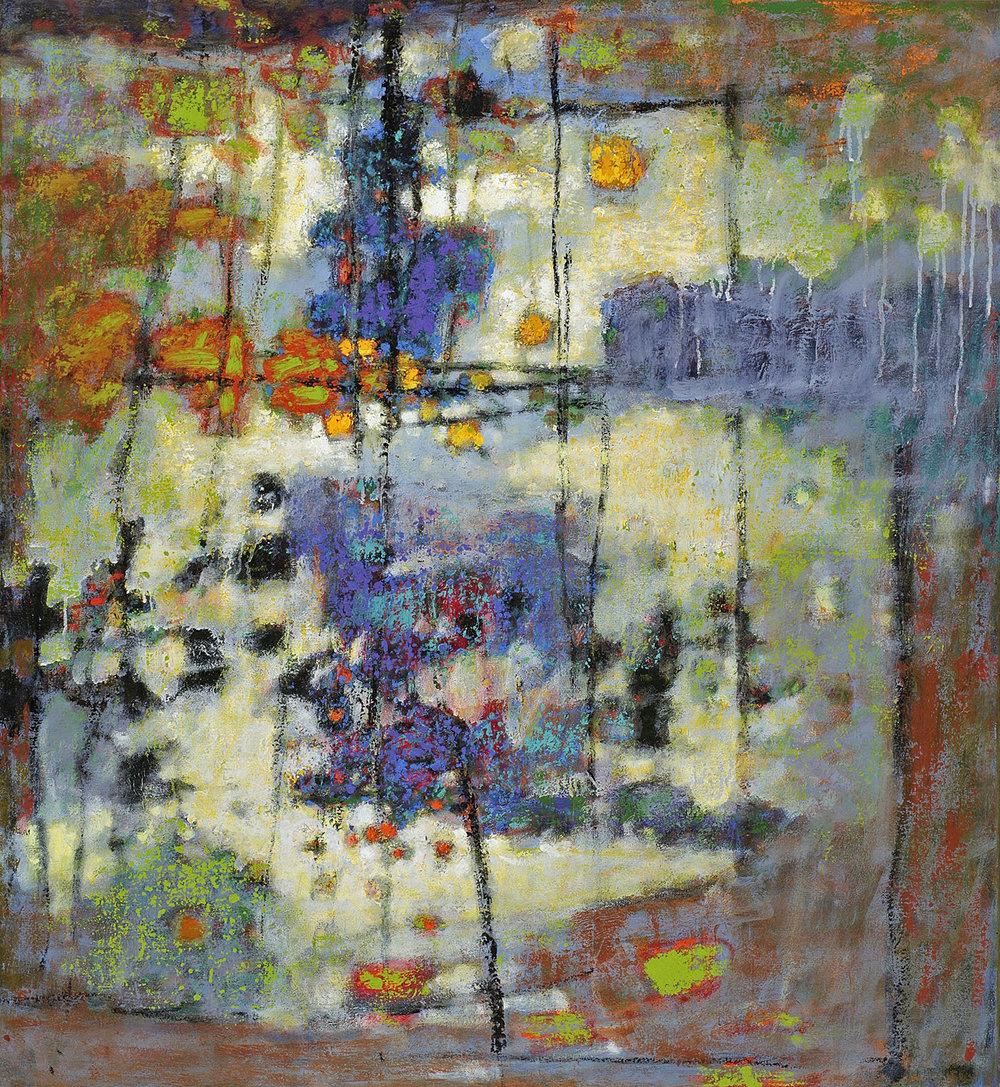 "Spark of Life   | oil on canvas | 40 x 36"" | 2012"