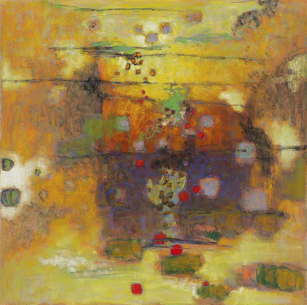 Intangible   | pastel on paper | 30 x 30"