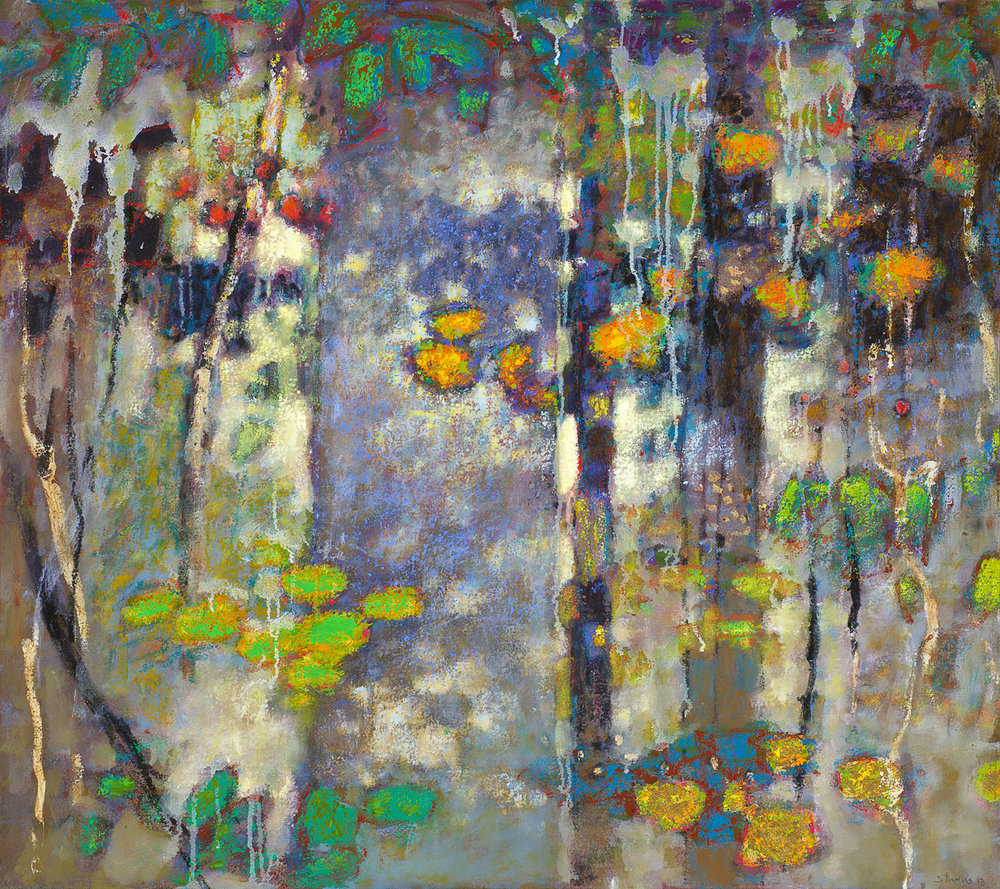 Interactions Beyond Our Knowledge | oil on canvas | 32 x 36"