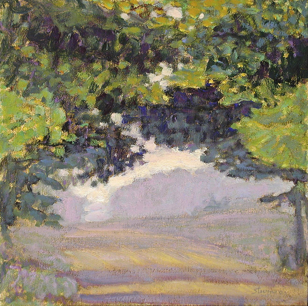Morning, Fonger Street   | oil on panel | 12 x 12"