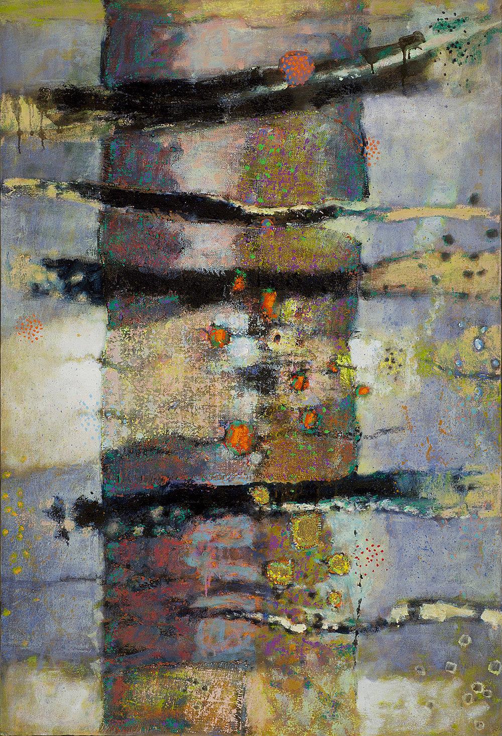 "Hyper Bole II   | oil on canvas | 47 x 32"" | 2014"