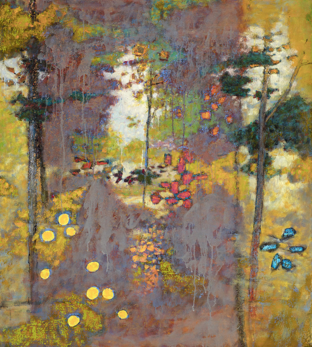 Unseen to the Scene | oil on canvas | 40 x 36"
