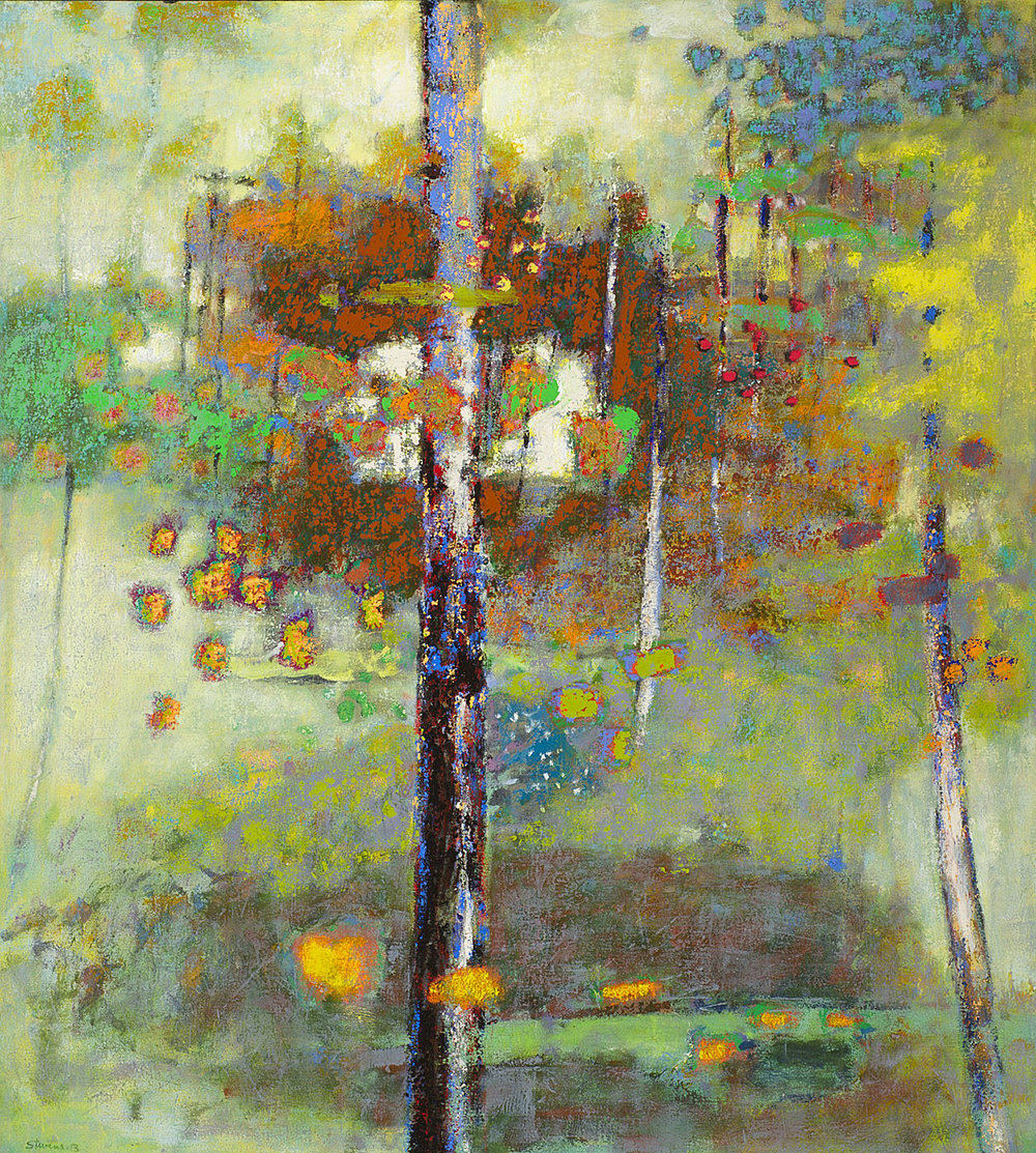 Birth of Duality   | oil on canvas | 40 x 36"