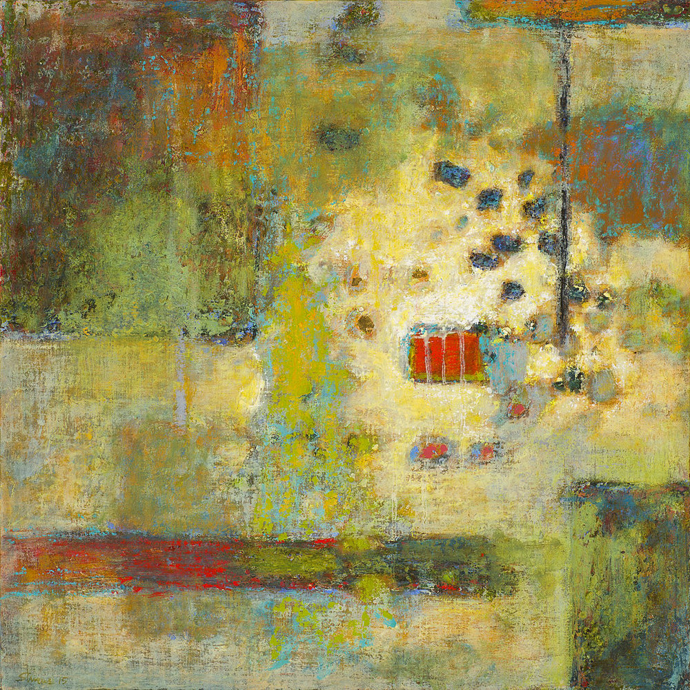 That Which Remains   | oil on canvas | 24 x 24"