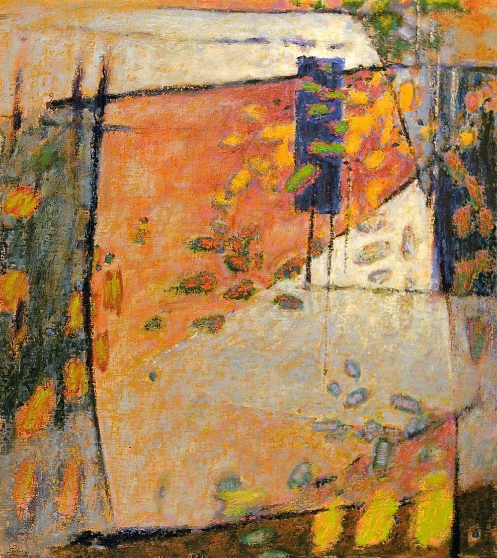 Sleepless Motions | oil on canvas | 47 x 42"