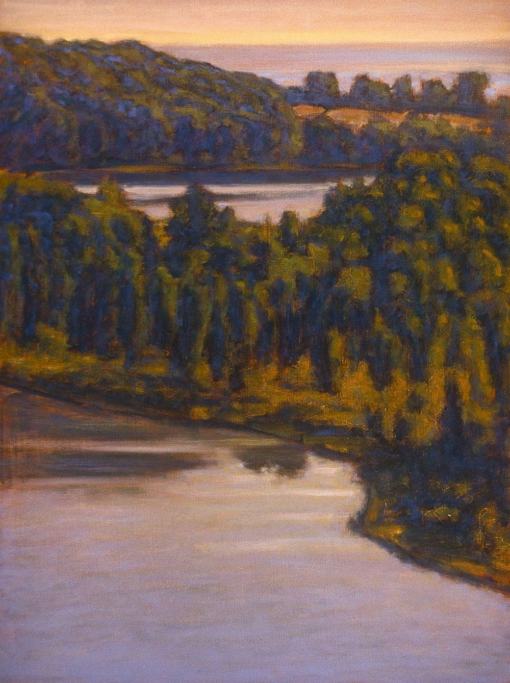 Ox Bow | oil on canvas | 24 x 18"