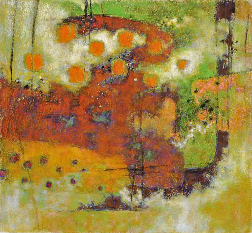 Improbable Landscape   | pastel on paper | 24 x 26"
