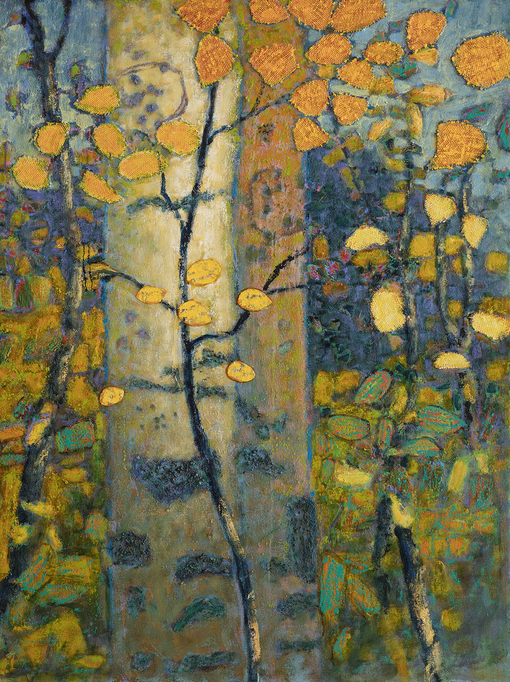 Exuberance | oil on canvas | 48 x 36"