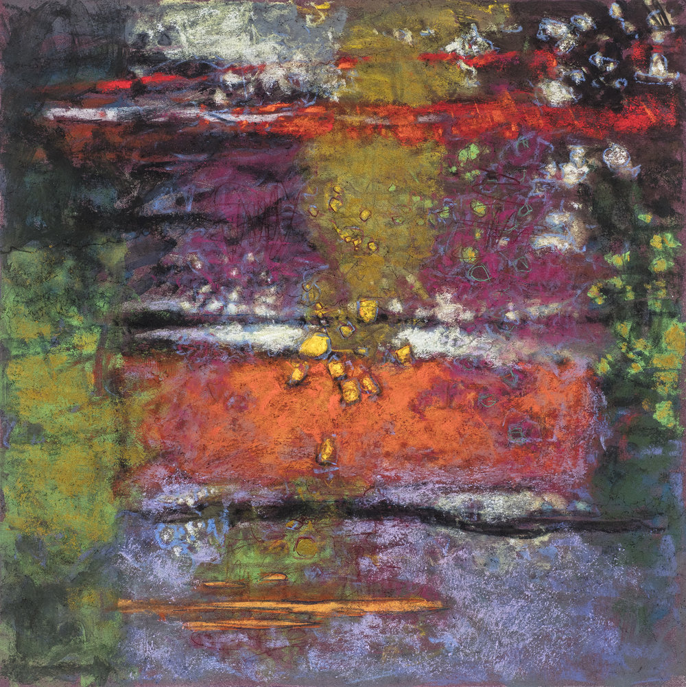Passing Memories  | pastel on paper | 14 x 14"