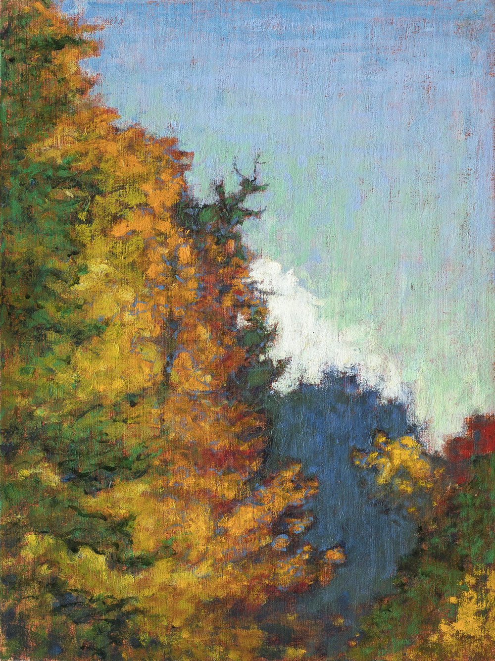 Autumn Afternoon | oil on linen | 16 x 12"