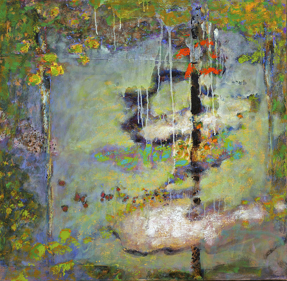 Adrift in the Ether Sphere  | oil on canvas | 31 x 32"