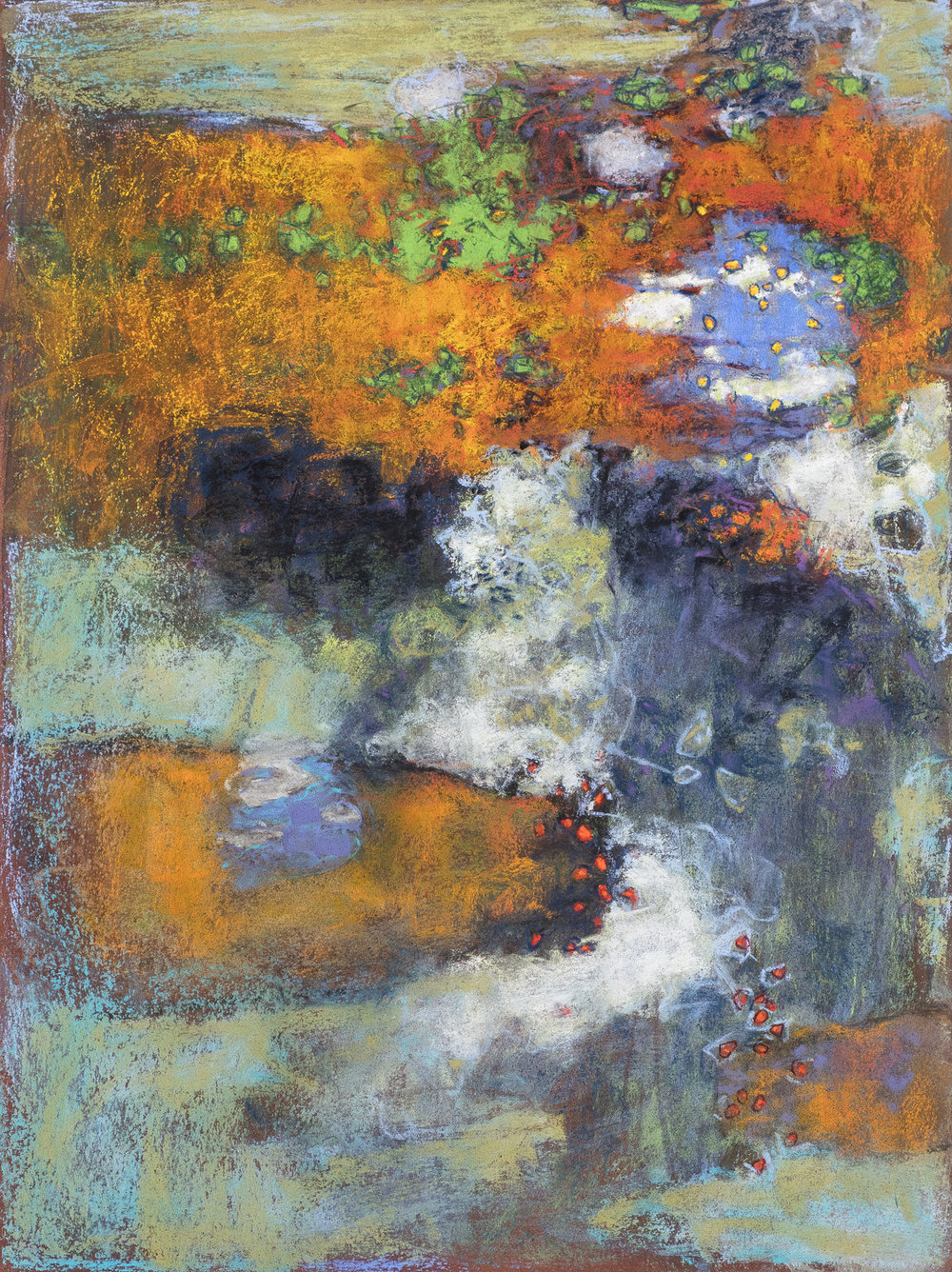 Wandering | pastel on paper | 16 x 12"