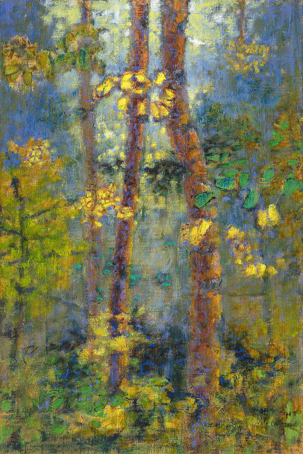 Enchanted Setting | oil on linen | 18 x 12"