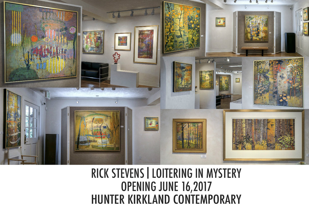 Loitering in Mystery Exhibition is up now at Hunter Kirkland Contemporary