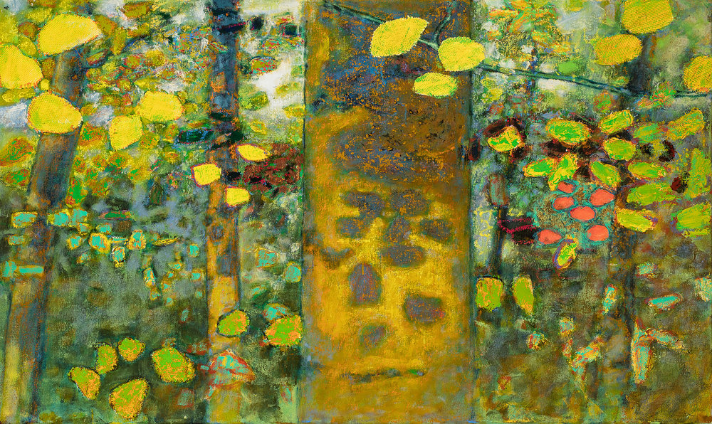 Golden Hour    | oil on canvas | 30 x 50"