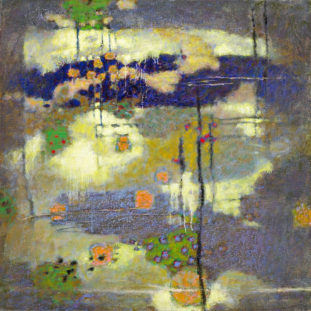Spacious Aspect of Being   | oil on canvas | 48 x 48"