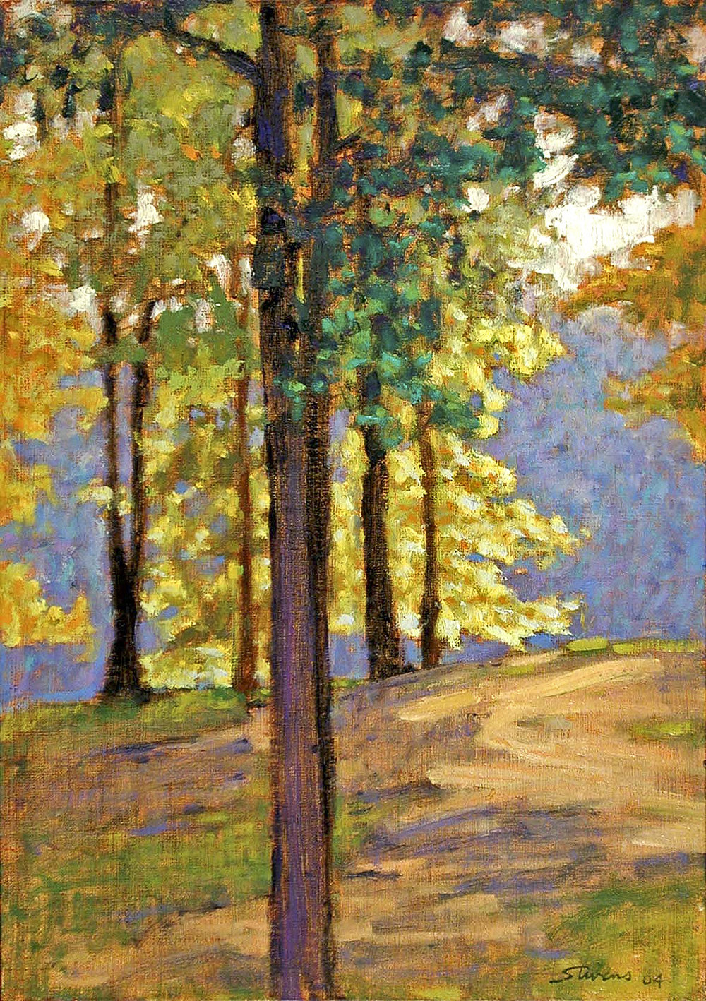Near the Lake  | oil on linen | 17 x 12"
