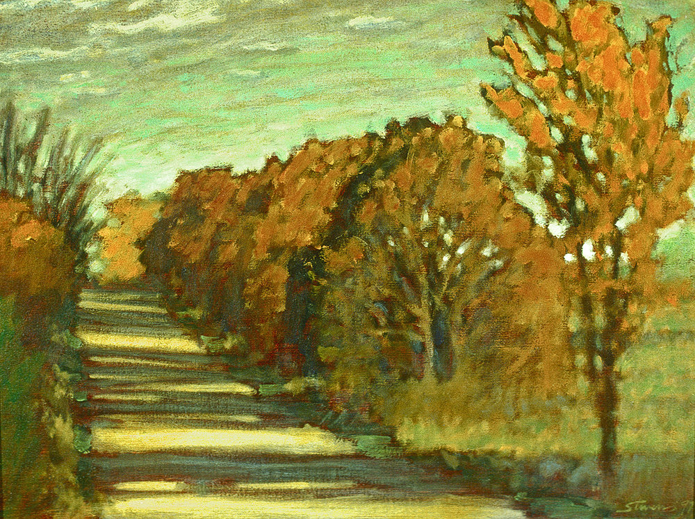 Squires Road  | oil on canvas | 12 x 16"
