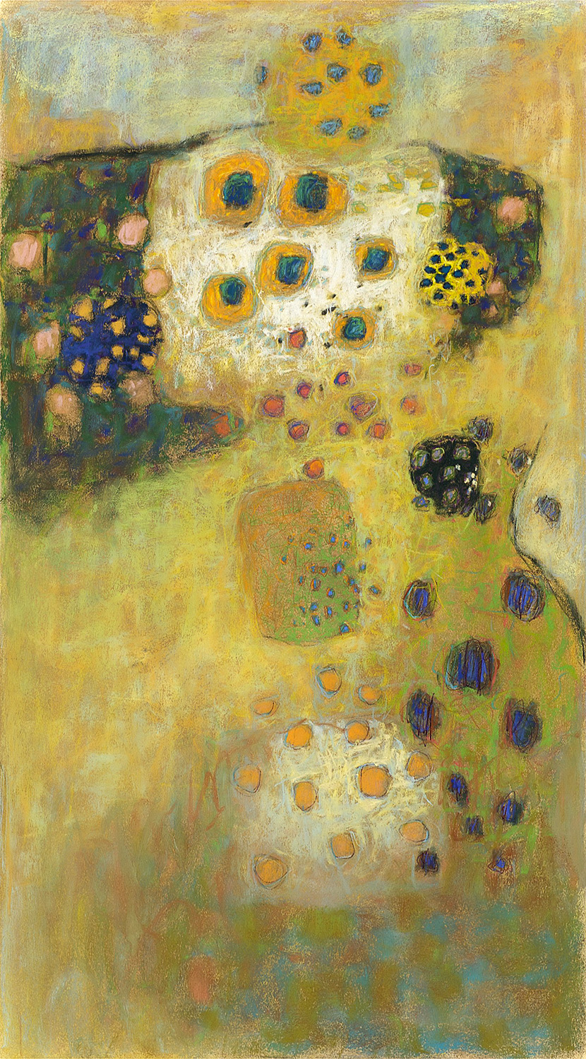 Organized Chaos  | pastel on paper | 36 x 20"