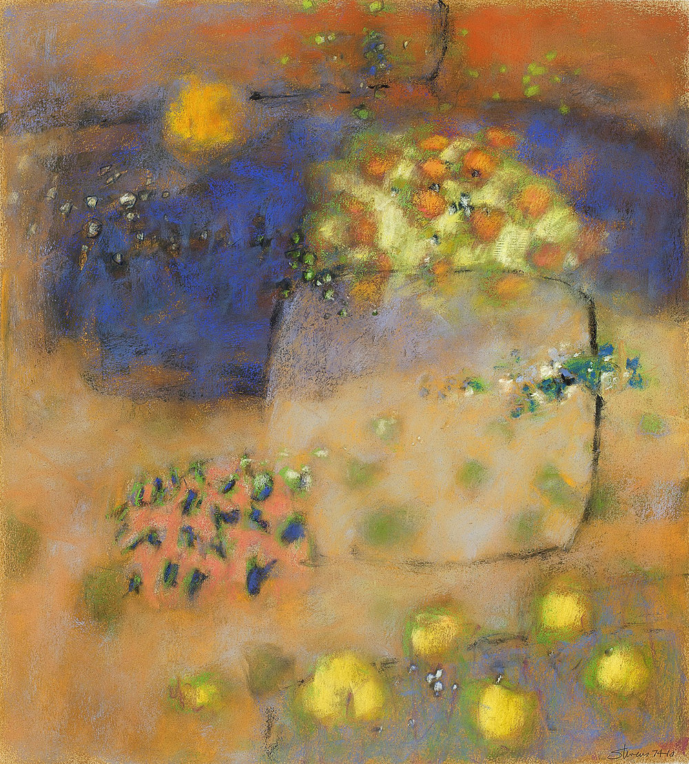 Emerging Transparency  | pastel on paper | 20 x 18"