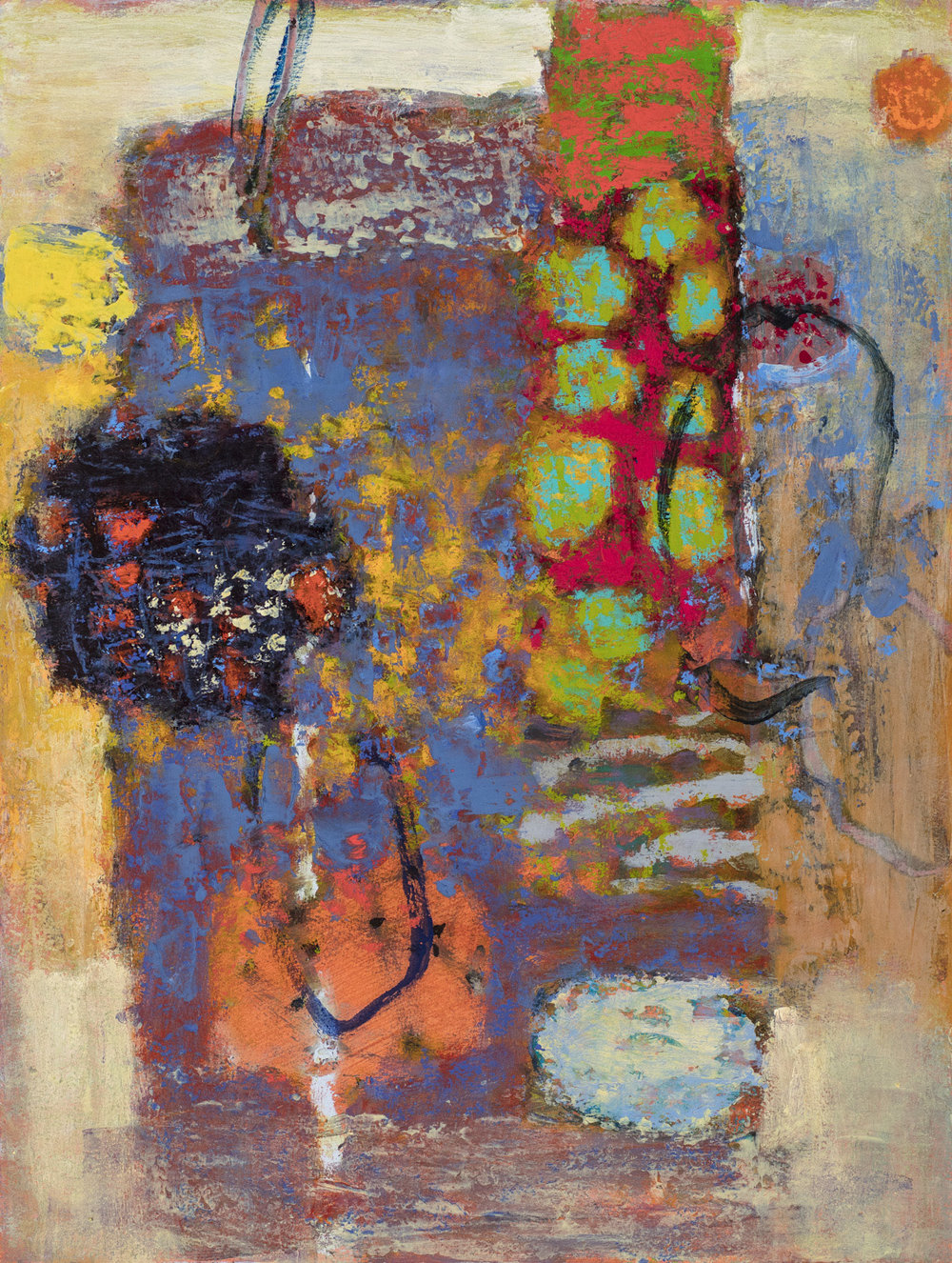 The Mix  | oil on fine art archival paper | 25 x 19"
