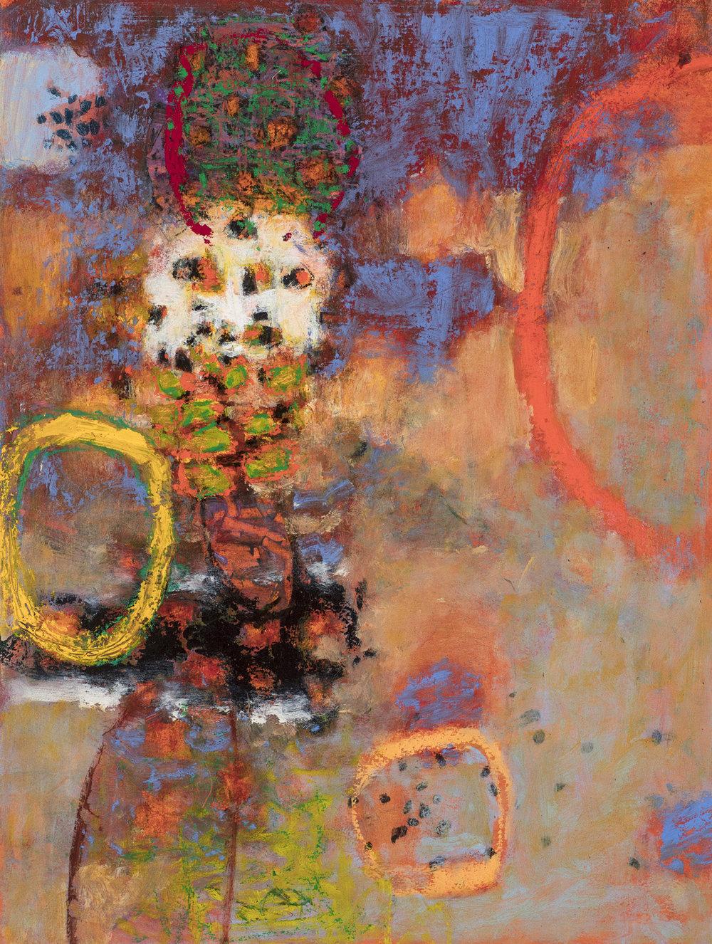 "Like a Dream  | oil on fine art paper | 25 x 19"" | 2017"