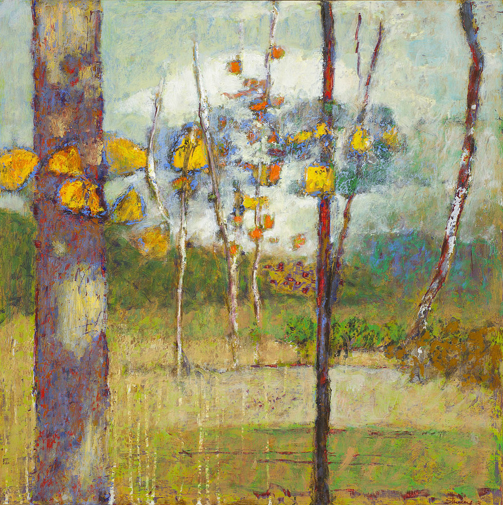 Everyone's Place | oil on panel | 24 x 24"