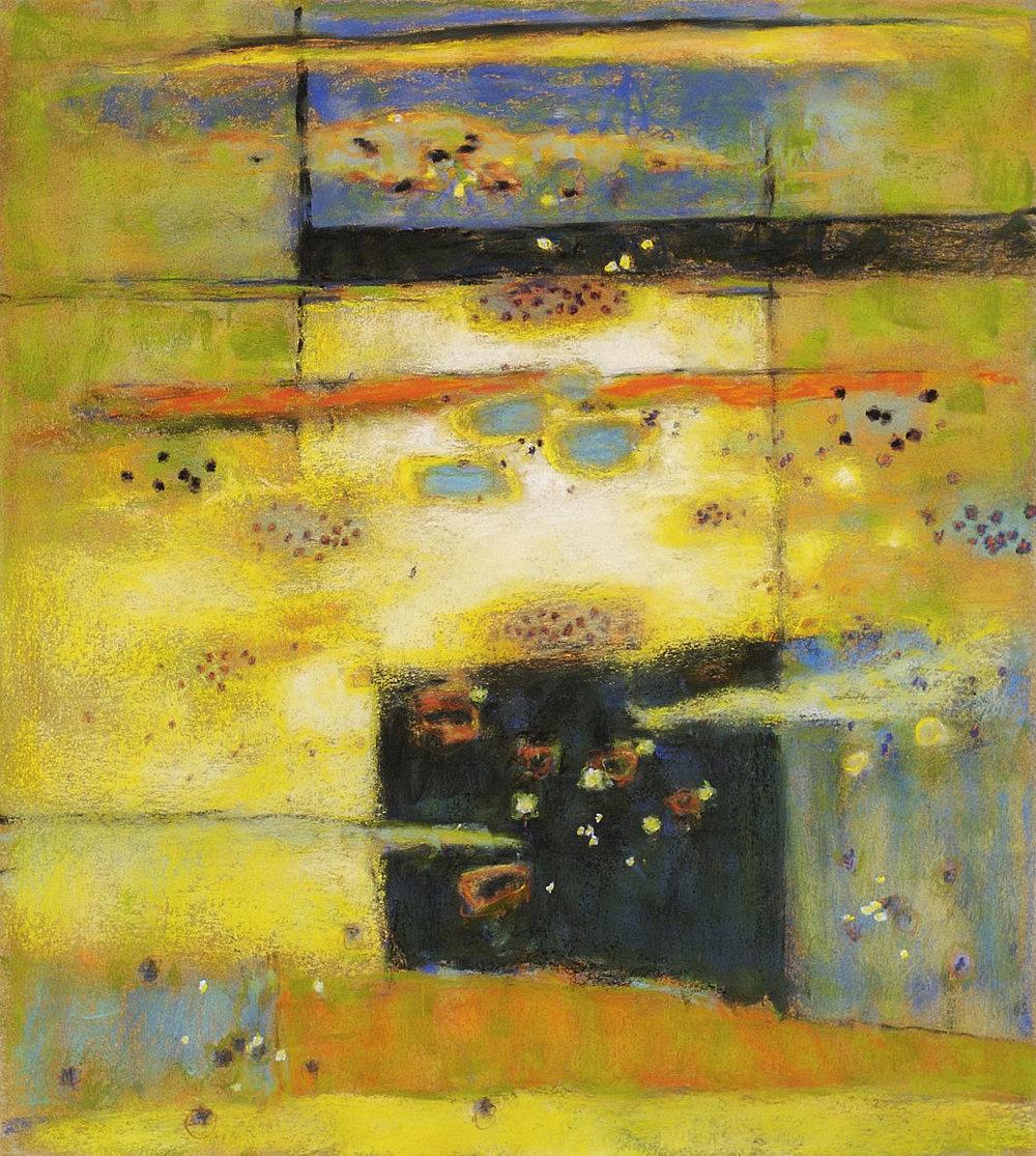 "53-08  | pastel on paper | 20 x 18"" | 2008"