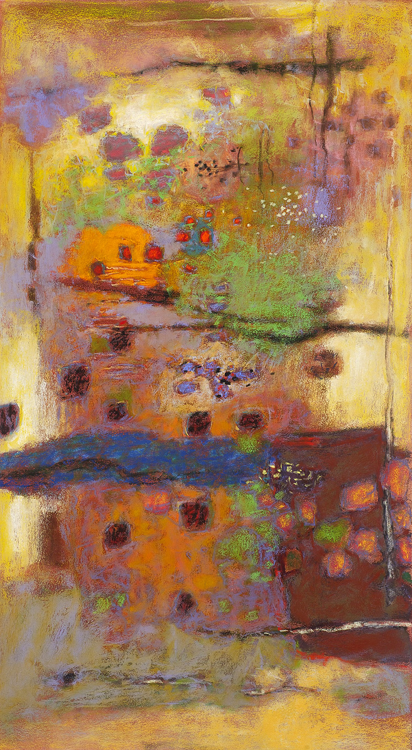 Complexity of Life  | pastel on paper | 36 x 20"