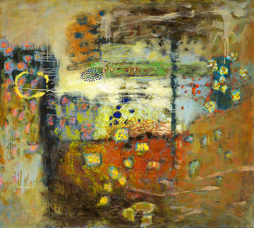 Molecules in Motion | oil on canvas | 40 x 36"