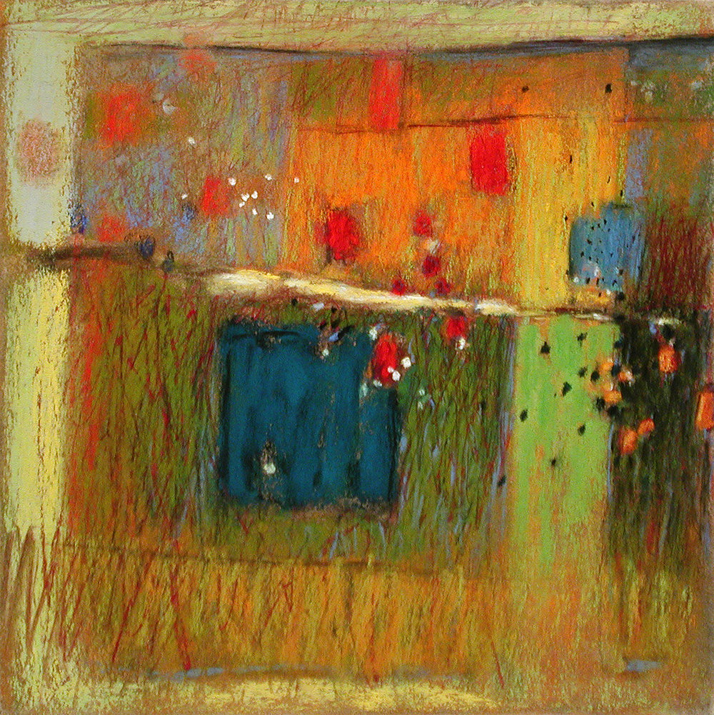 Dreams Afield  | pastel on paper | 14 x 14"