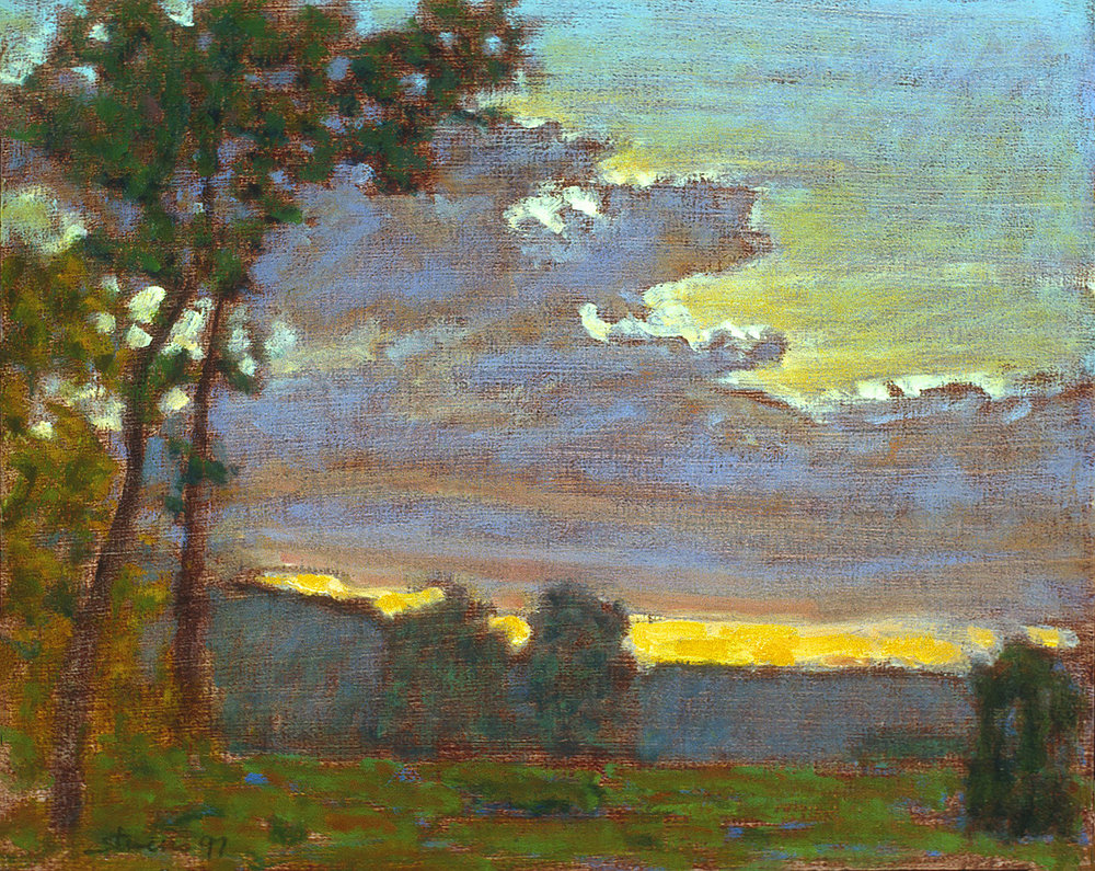 80-97  | oil on canvas | 12 x 15"