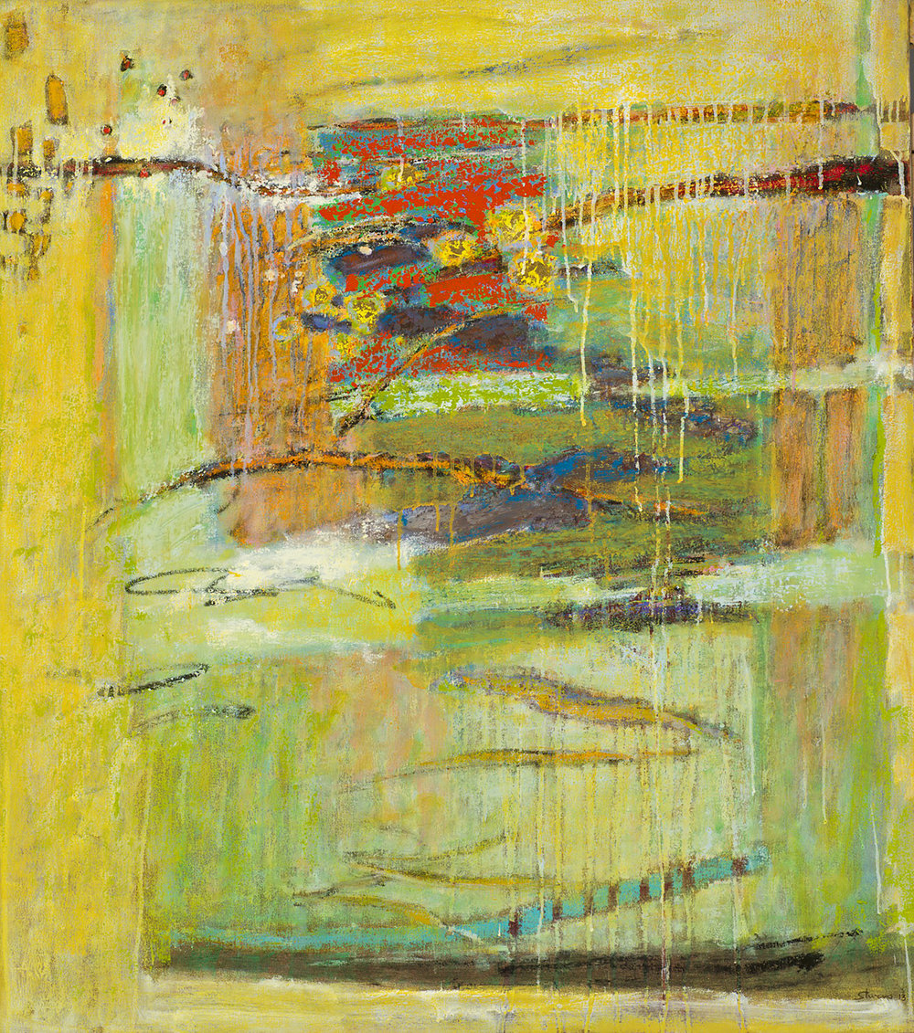 "Unexplained Phenomena  | oil on canvas | 41 x 36"" | 2013"
