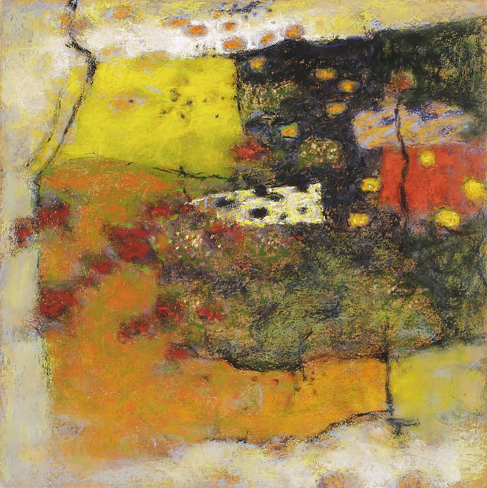 Ancient Passing  | pastel on paper | 14 x 14"