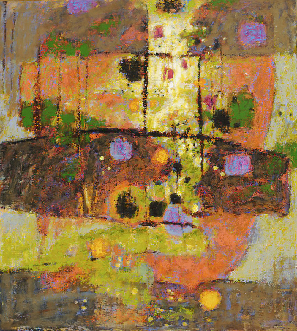 Visited by Spirits  | oil on canvas | 40 x 36"