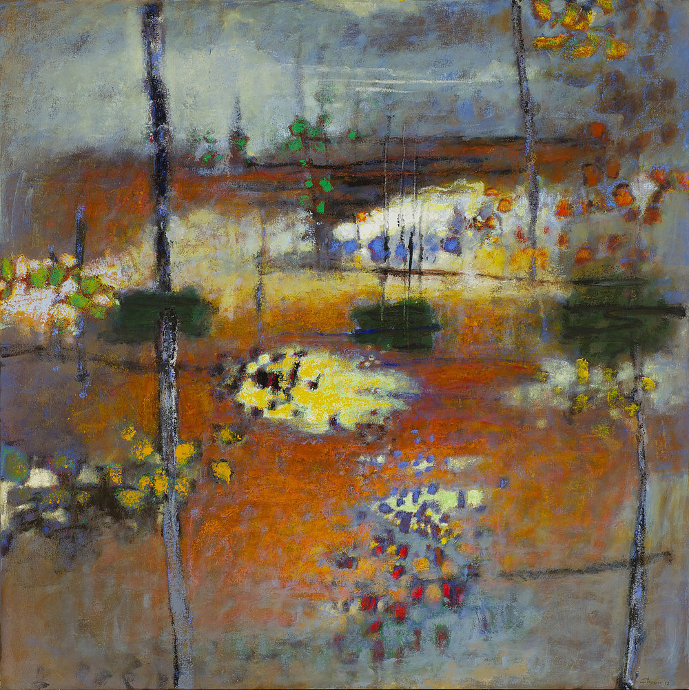 Perceiving the One  | oil on canvas | 48 x 48"
