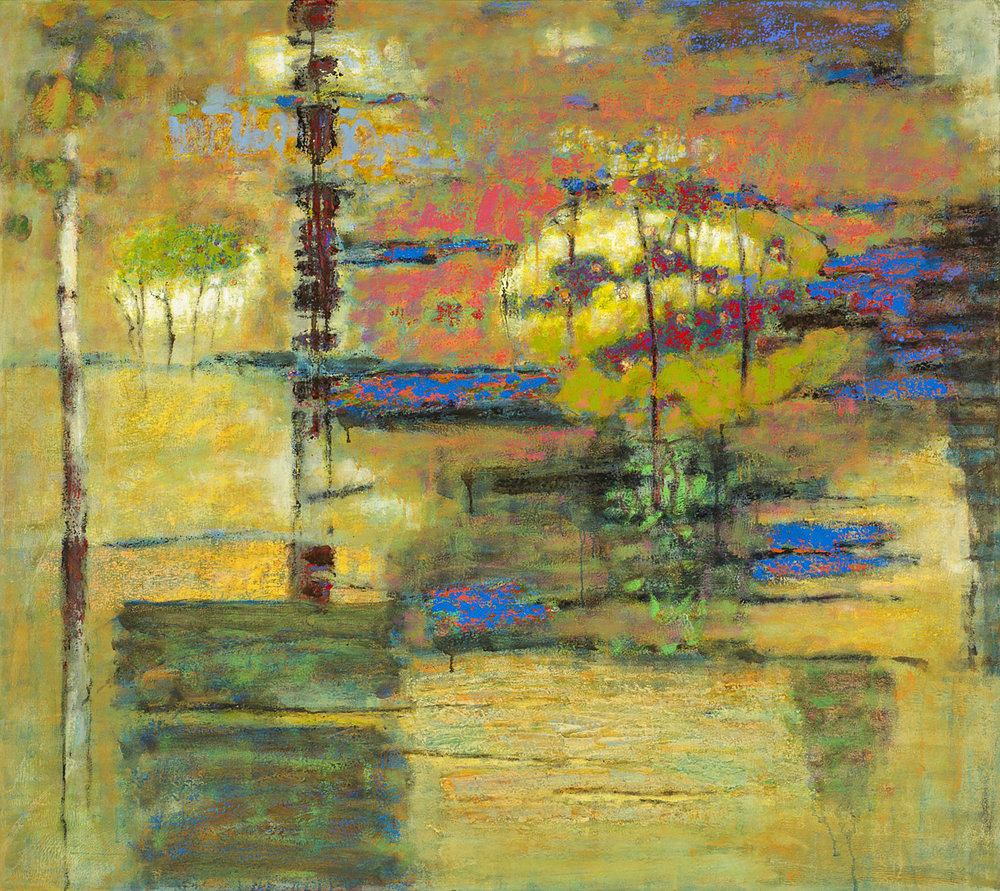Toward the Unknown Region   | oil on canvas | 48 x 54"