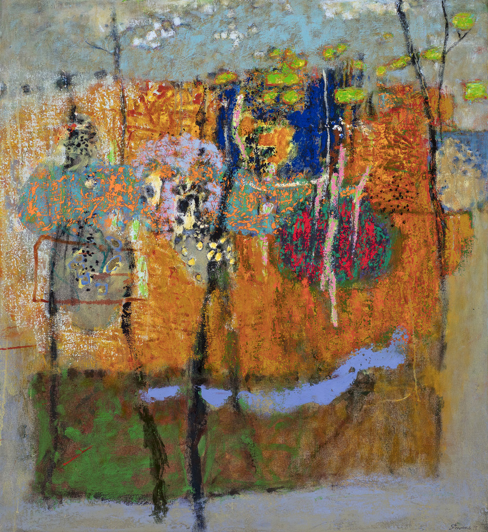 Earth Luminous   | oil on canvas | 36 x 32"