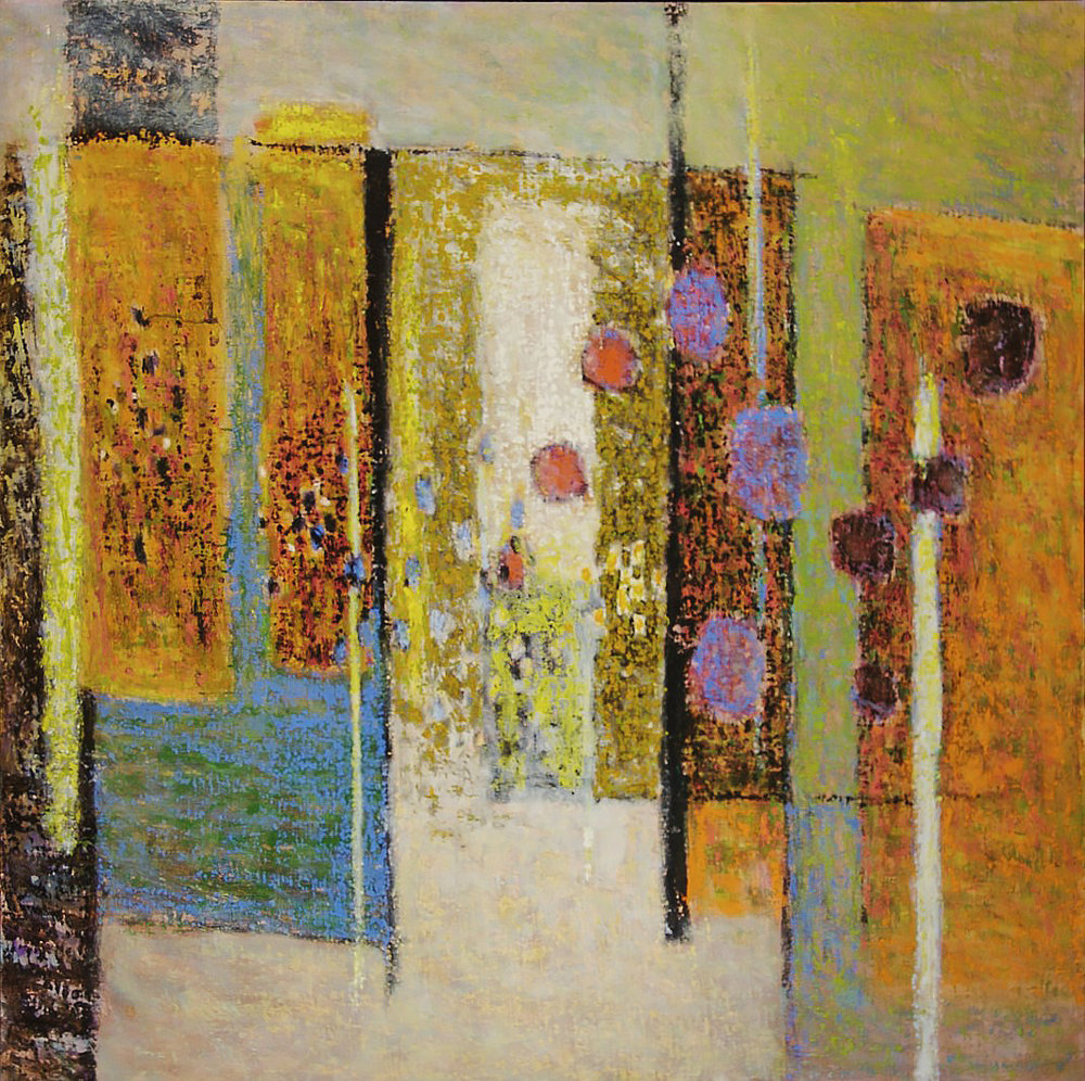 Interior  | oil on canvas | 54 x 47"