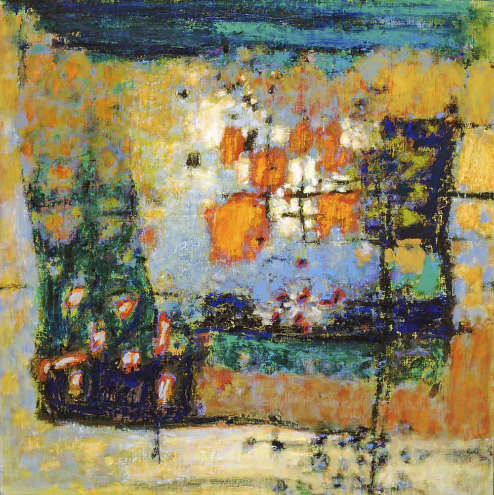 Outside In  | oil on canvas | 32 x 32"