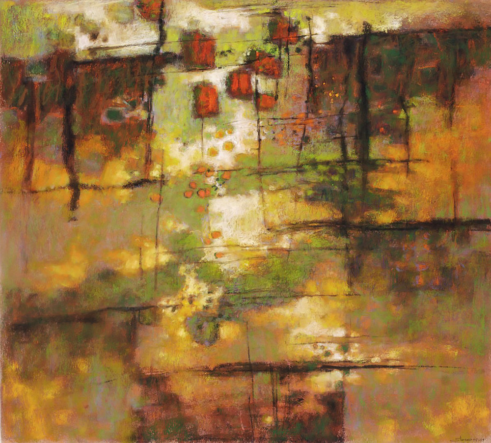 Canyon Clouds  | pastel on paper | 24 x 26"