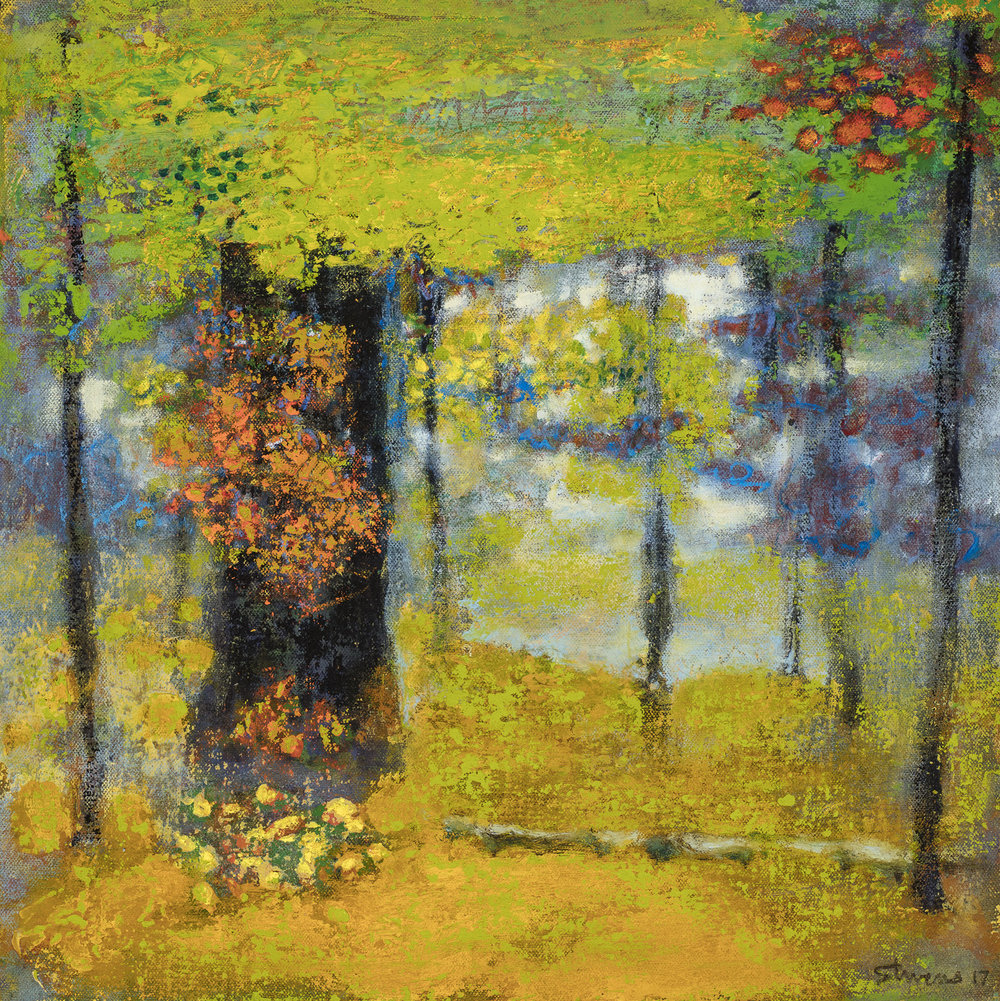 Entrance  | oil on canvas | 14 x 14"