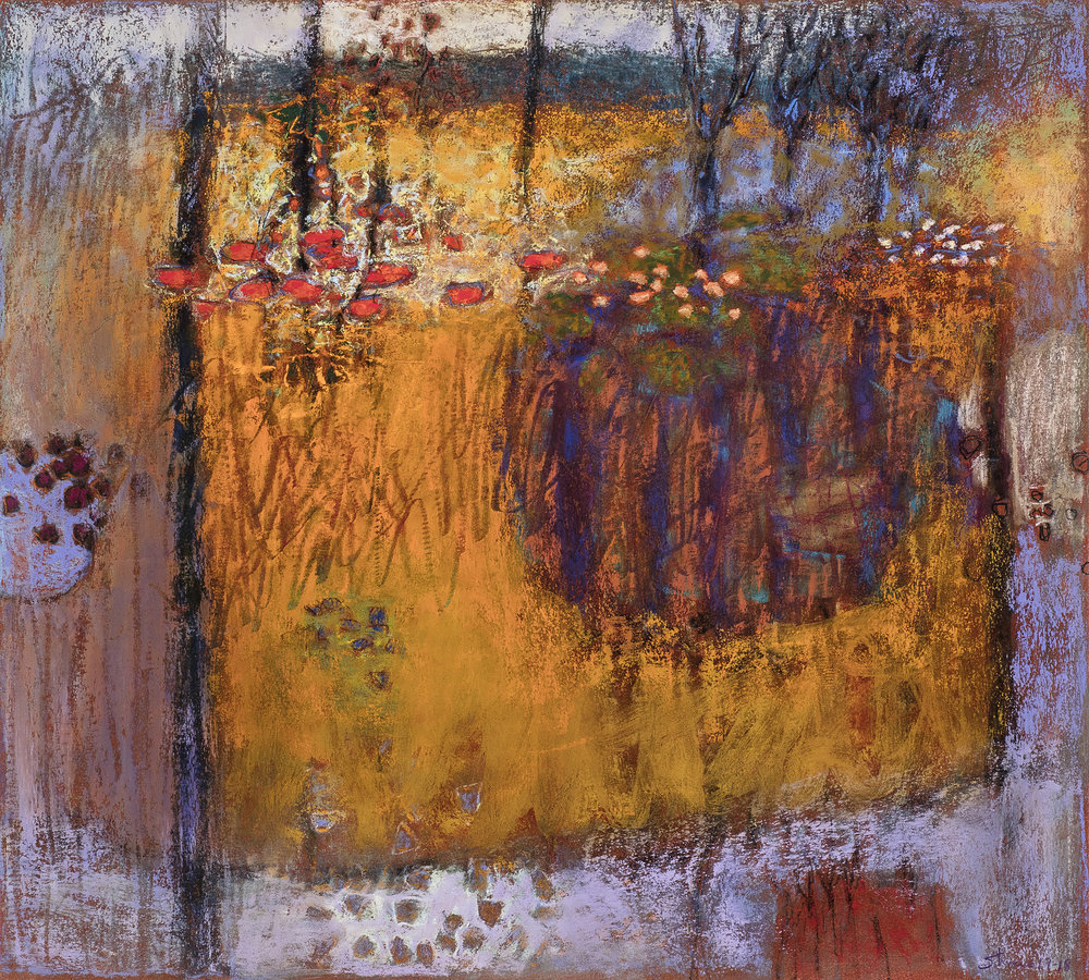 Inside Life | pastel on paper | 18 x 20"