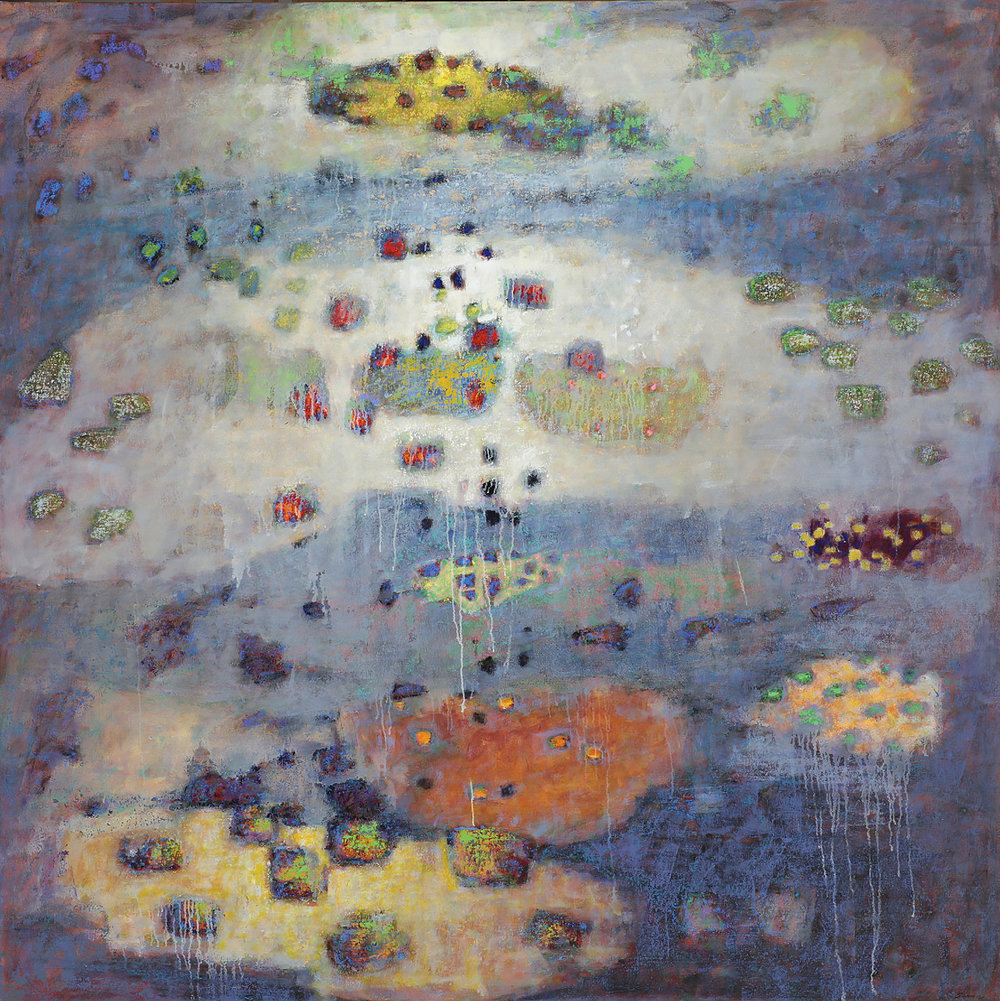 Doorway to a Dream   | oil on canvas | 72 x 72"