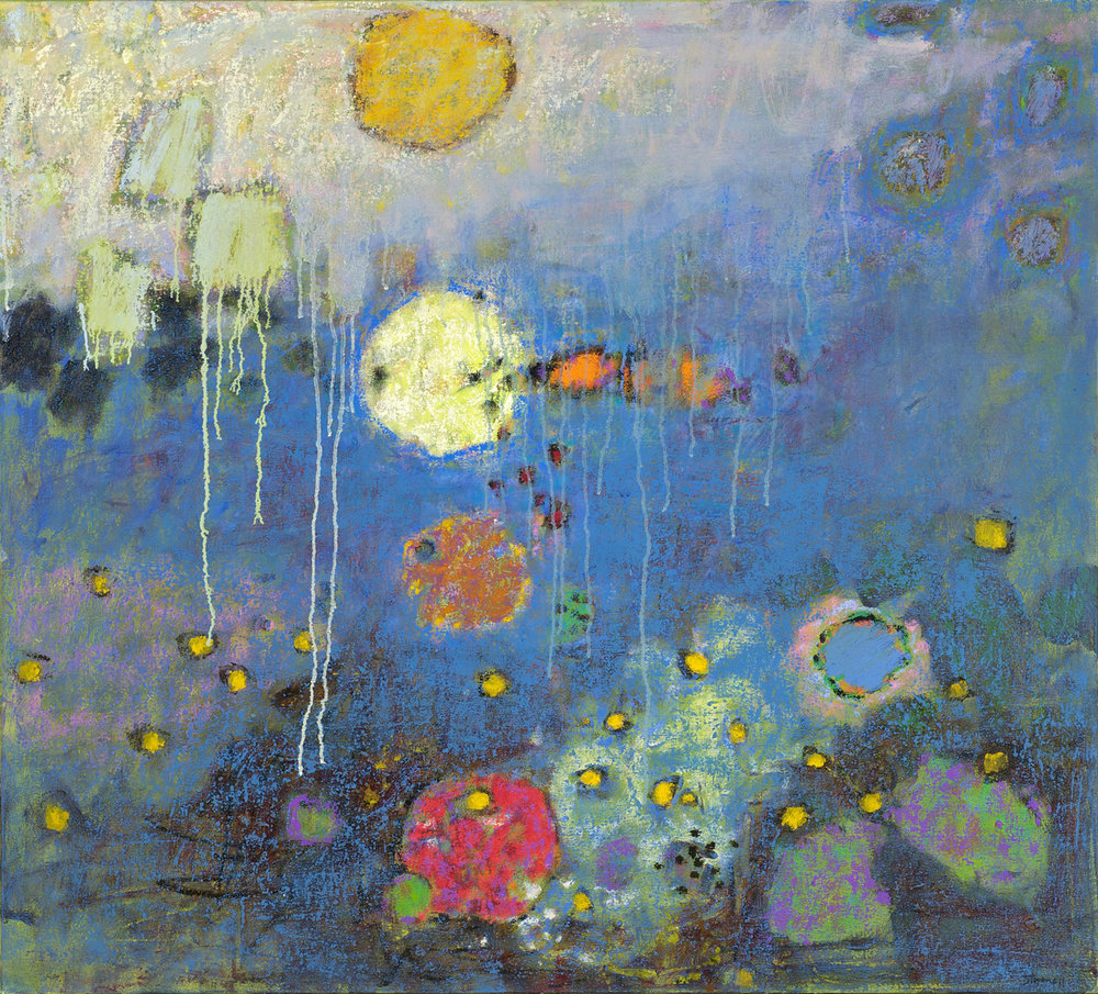 Down Deep  | oil on canvas | 36 x 40"