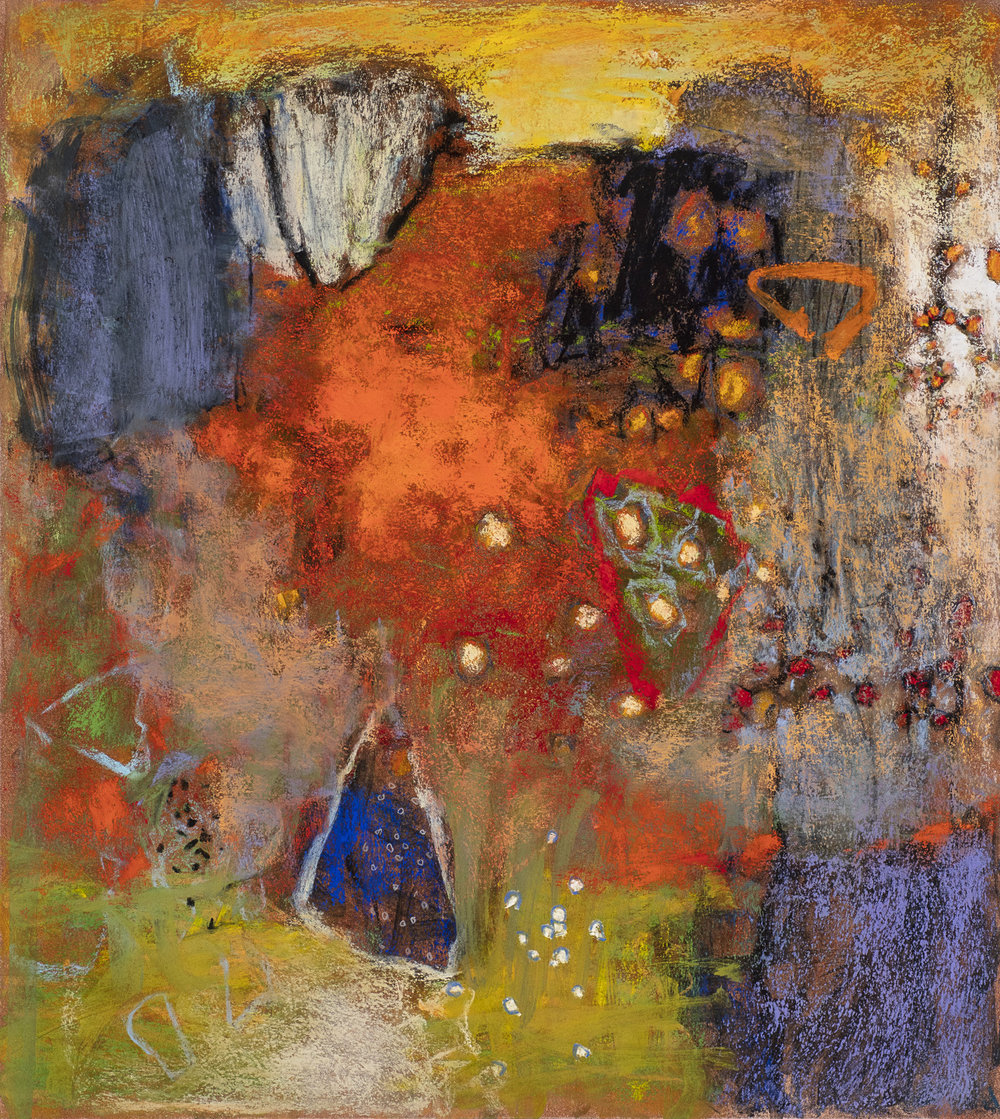 Blurred Boundaries  | pastel on paper | 20 x 18"
