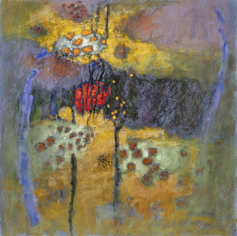 Adrift in Promise  | pastel on paper | 24 x 24"