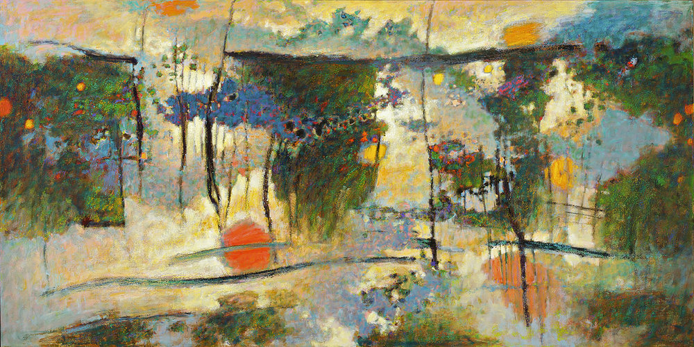 The Mind's Eye  | oil on canvas | 48 x 96"